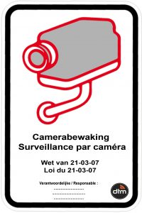 pictogram camerabewaking